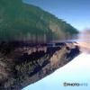 埼玉県 名栗湖の湖上