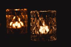 蝋燭+ガラス2