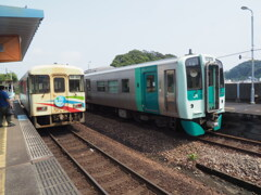 JR四国牟岐線 阿佐海岸鉄道
