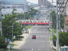 琴電屋島駅付近