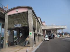 土佐くろしお鉄道 奈半利駅