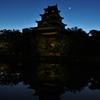 キムタツさんへのプレゼント作品  広島城天守と明けの明星