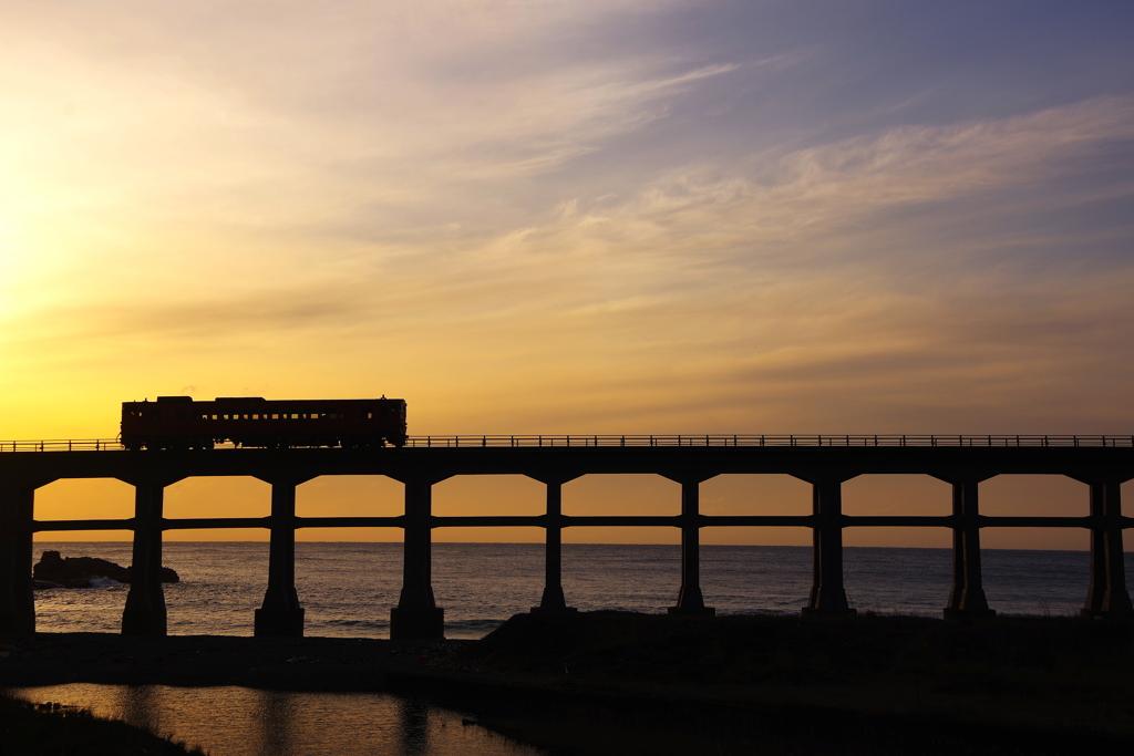 惣郷川橋梁その1