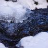 凍てつく渓流