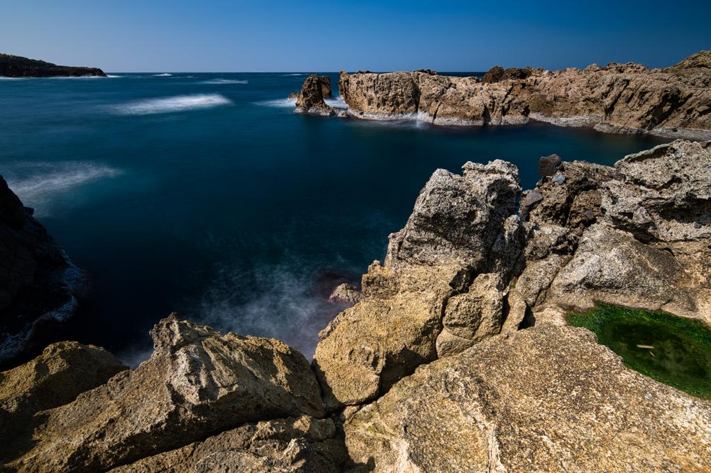 海岸線の風景Ⅰ