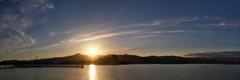 びわ湖夕景