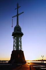 神戸の夜明け ハーバーランド