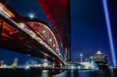 神戸大橋withクァンタム・オブ・ザ・シーズ