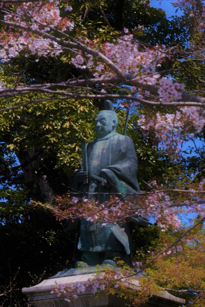 花の生涯 井伊直弼公銅像