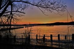 湖北春夕景
