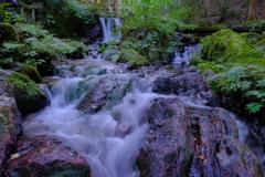 名水百選「瓜割の滝」 6-3