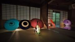和空間 和傘灯り 5