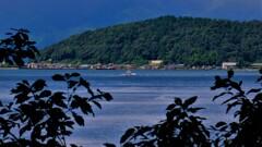 湖上の離島 4