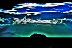 琵琶湖光芒 1