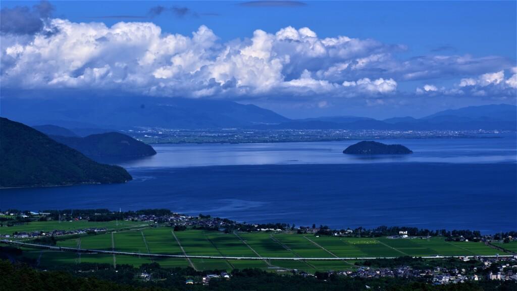 奥琵琶湖夏景