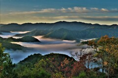 小入谷峠の朝景雲海 9