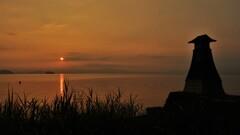 淡海常夜灯の朝景 6