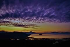 琵琶湖低ポッチ朝景 1