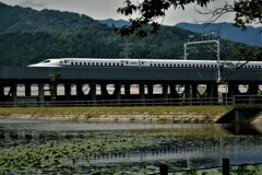走る新幹線 3