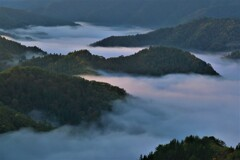 小入谷峠の朝景雲海 5