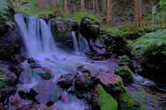 名水百選「瓜割の滝」 6-1