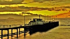 観光船桟橋の朝 2