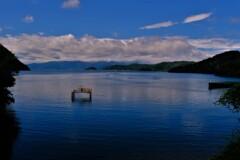 湖上の離島 3
