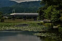 走る新幹線 1