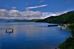 湖上の離島 5