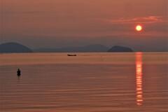 湖西の朝景 Ⅰ