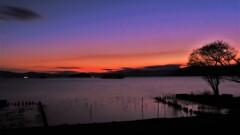 湖北春黄昏