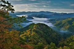 小入谷峠の朝景雲海 8