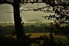 竹生島遠望 1