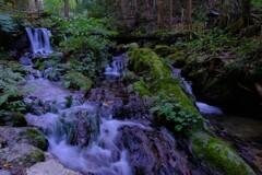 名水百選「瓜割の滝」 6-4