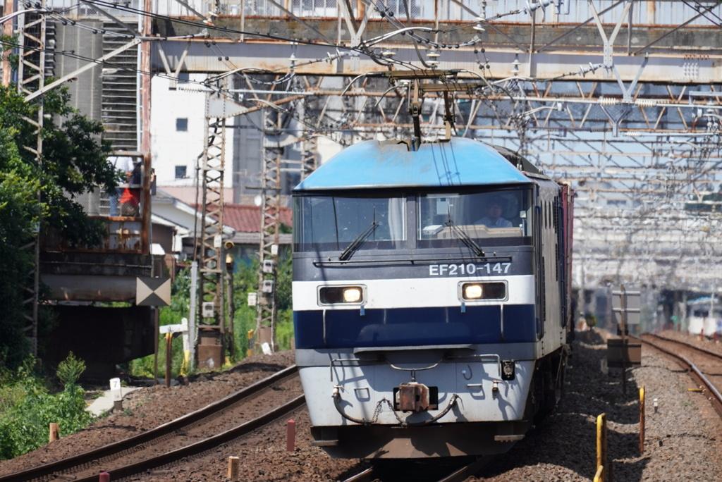 常磐線 EF210147