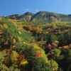 秋たけなわの十勝岳温泉