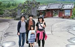 女系家族の記念写真
