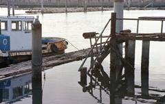 杭と引き船