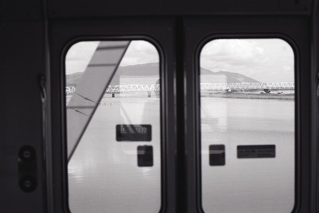 関西本線の車窓 ~揖斐・長良川風景