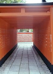 犬山城の参道にて