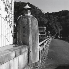 城嶺橋の袂から…