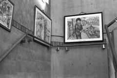 階段の絵画