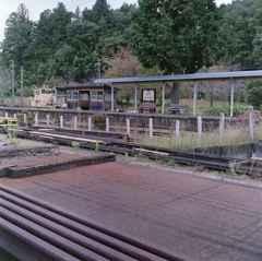 田舎の駅という感じですね。