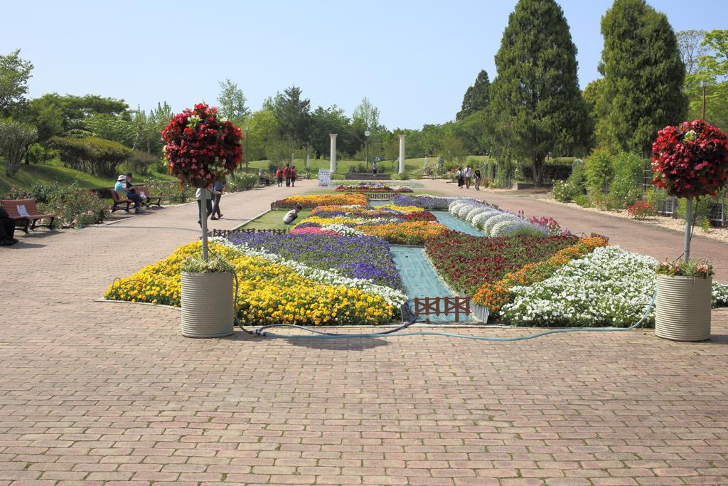 バラ園 ~春日井市都市緑化植物園
