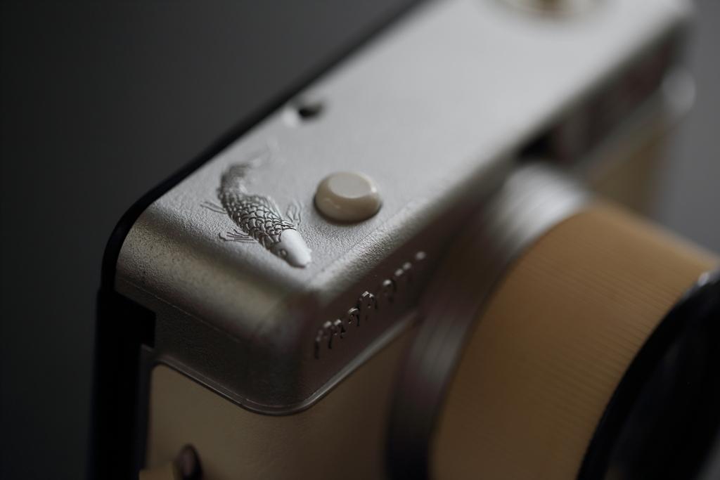 鯉が泳ぐカメラ…Lomo Fisheye