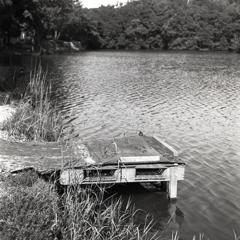 見返り池のへら台