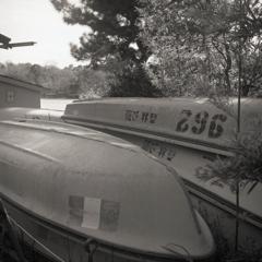干されたボート