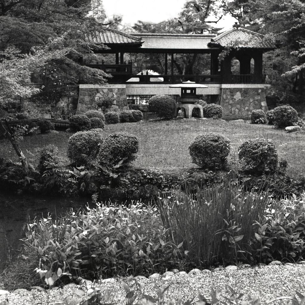 北庭園の白雲橋