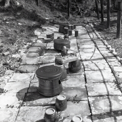 並べられた瀬戸陶器