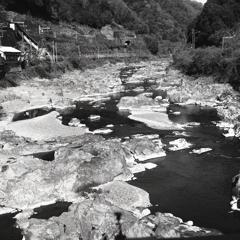 城嶺橋から玉野川